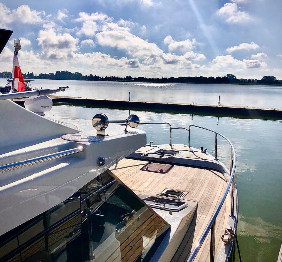 Mazury, Rental of motor yachts in Masuria
